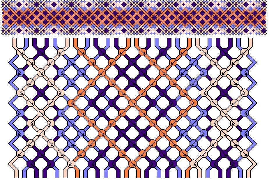 плетенка фенечка