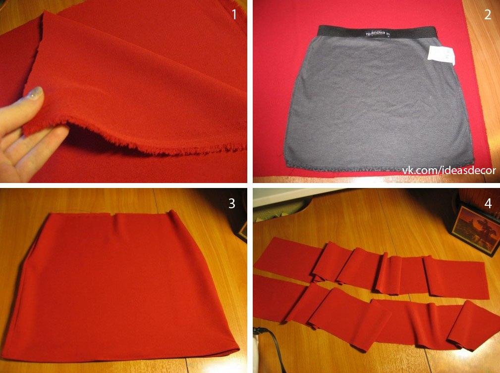 Как сшить оригинальную юбку своими руками 75